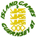 Logo for Second Island Games - Guernsey 1987