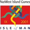 Logo for NatWest Island Games IX - Isle of Man 2001